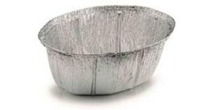 Envase ovalado con tapa