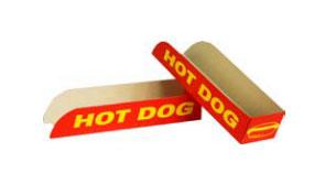 Soporte hot-Dog impreso económico
