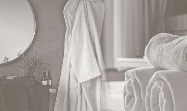 toallas y albornoces